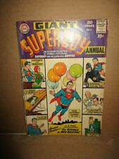 Superboy Annual 1 Krypto Origin 1964 Dc Comics 80-Page Giant Superbaby Power-Boy