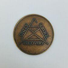 CMA Crystal Meth Anonymous Blank Anniversary Medallion Token