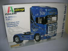 Italeri Scania R620 Blue Shark Blue Hai Truck 1:24 Kit Model Set 3873