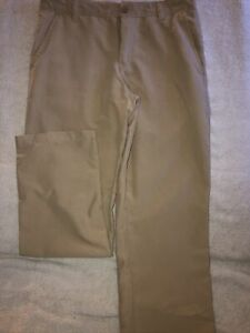 Chaps Boys School Approved Performance Beige Pants Size 14