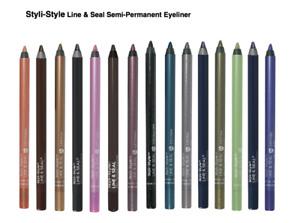 (2-Pack) Styli-Style Cosmetics Line & Seal Semi-Permanent Eyeliner
