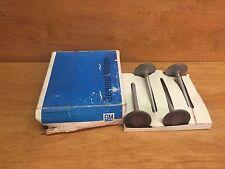 BOX OF 4 1968 1969 GM F/6 & T/6 INTAKE VALVE NOS GM 9794218 FREE SHIPPING