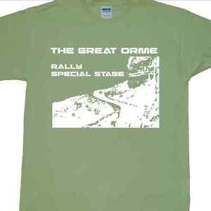 'The Great Orme Rally' T-Shirt (Wales, GB, WRC, Motorsport, RAC, Racing, Car)