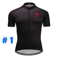 Cycling Jersey Bike Shirt Bib Short Set Clothing MTB Ride Tesla Sports Wear Top