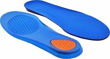 Gel Insoles For Shoes Orthotic Arch Support Pad Flat Feet Heel Ankle Pain Relief