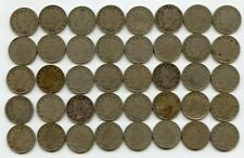 Coin Roll 1910 Liberty V Nickels - lot set collection - JR981