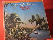 "MFSL 1-056 COUNTRY JOE McDONALD ""PARADISE"" (JAPANPRESSING-SERIES/FACTORY SEALED)"