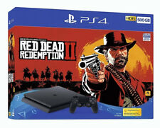 Sony PlayStation 4 500GB Red Dead Redemption 2 Console Bundle - Jet Black