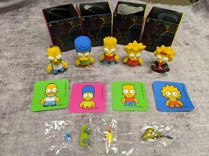 2008 Kidrobot Simpsons Series 1 Family lot - Bart Homer Marge Lisa Maggie + accs