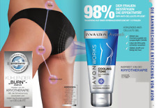 AVON Solutions WORKS COOLING TONE kühlendes Anti Cellulite Gel 150ml NEU