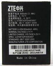 AUTHENTIC OEM ZTE Li3709T42P3h463657 18287-2000 900mAh 4.2V 3.4Wh Battery