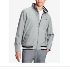 Tommy Hilfiger Mens Jacket Gray Size 2XL Full-Zip Sail...