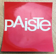 "Paiste 3"" x 3"" Sticker Drummer/Drums/Cymbals // Free Shipping"