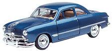 New Motormax - 1949 Ford Coupe Bayside Blue 1:24 - 73213AC