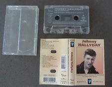 RARE CASSETTE K7 AUDIO TAPE JOHNNY HALLYDAY CRISTAL COLLECTION COMPILATION