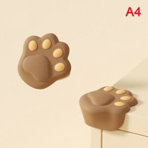 2Pcs Cute Cartoon Baby Silicone Safety Protector Table Corner ProtectionWCA