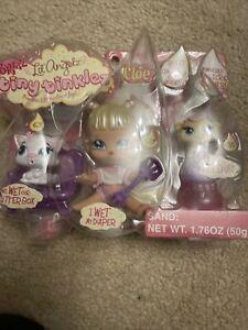 Bratz Lil Angelz Tiny Tinklez Cloe Doll #627 & Pets New