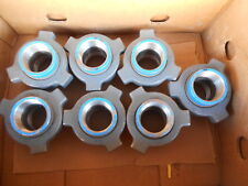 """(7Pcs) Hammer union 2"""" Fig 211 ,2000 wp,Forged Carbon Steel,Gray Nut / Blue Subs"""