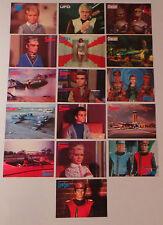 Gerry Anderson: le CAPITAINE ÉCARLATE, ufo, stingray, Joe 90, cartes postales Thunderbirds