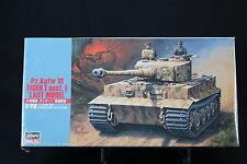 XO159 HASEGAWA 1/72 maquette tank char 31139 MT39 700 German Army Pz.Kpfw VI NB