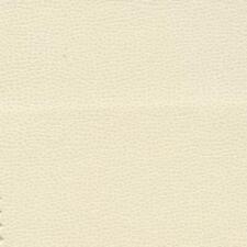 Ultrafabrics Upholstery Fabric PROMESSA Pearl Cream Faux Leather 3.875 Yds Fo1
