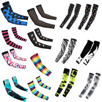 New Cycling Bike Bicycle Arm Warmers Cuff Sleeve Cover Sun Protection Muti Color