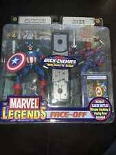 Captain America & Red Skull Marvel Legends Face Off Arch-Enemies Toy Biz 2006