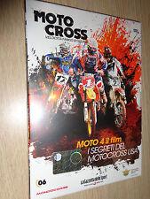 DVD N°6 MOTOCROSS VELOCITA' FANGO MOTO 4 IL FILM  I SEGRETI DEL MOTOCROSS USA
