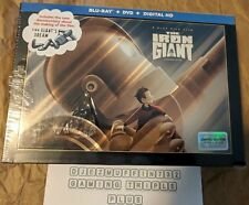 THE IRON GIANT SIGNATURE ULTIMATE CE (BLU-RAY + DVD + DIG HD) CELLOPHANE RIPS