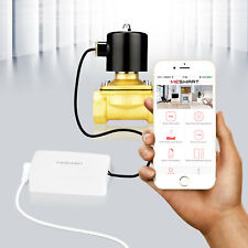 Smart Electric Solenoid Valve Controller for Water Gas Air Open Closed Home Safe