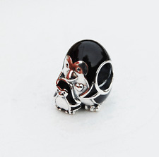 "Genuine Pandora Charm ""Penguin Family"" Black Enamel - 791404EN60"