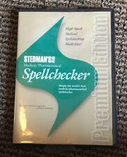 Stedman's Medical Pharmaceutical Spellchecker Premium Edition Cd Feb 2011 Vol 1