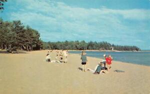 McCains Motel, Florence, South Carolina Beach Scene c1950s Vintage Postcard