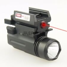 Tactical PSTL Compact Red Laser with QD Quick Release Flash Light Flashlight