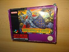 Super Ghouls'N Ghosts pour Snes