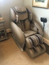 Infinity IT 8500 deluxe massage chair, beige. Used 3 times, perfect condition