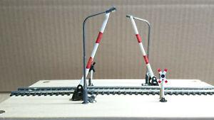 Servo Steuerung für Bahnübergang, mit Warnblinker oder Wechselblinker (4.0.2)