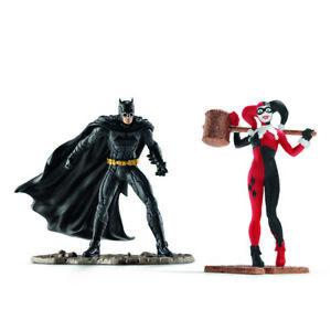 Batman Vs Harley Quinn Schleich Figurine 22509 Justice League DC Collectables