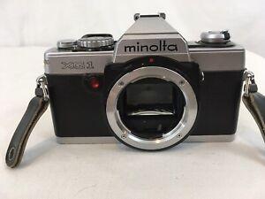 Minolta XG-1 35mm SLR Film Camera NOT TESTED