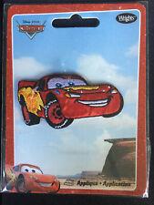 Brand New Wrights - Iron on Appliqué - Disney Pixar Cars Lightning McQueen