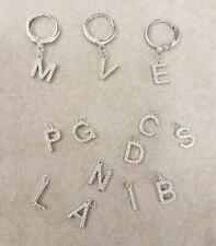 Orecchini di bigiotteria d'argento in acciaio