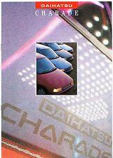 Daihatsu Charade 1989-91 UK Market Sales Brochure 1.0 1.3 CX GTti