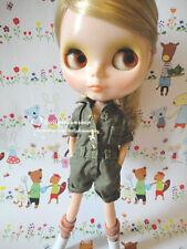 Doll Clothing ~ Blythe/Licca/Pure Neemo 23cm Female Dark Green Jumper 1PCS