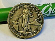PHILIPPINES 1944 D- 20 Centavos Silver Twenty Centavos US Coins & Foreign Coins