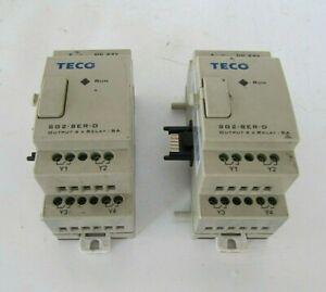 TECO PLC 4 Ch Relay Output Module SG2-8ER-D
