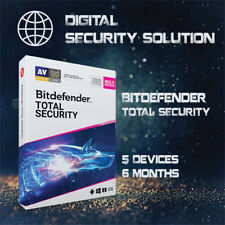 BitDefender Total Security 2020 5 Devices 6 Months + Service Plan