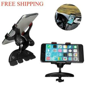 CD Slot Clip Car Phone Holder Universal Cell Phone Car Mount for iPhone Samsung