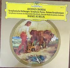 "Kubelik/BRSO/Dvorak ""Symphonic Poems"" DG 2530 712 Germany NM Pristine (AP)"