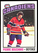 1976-77 OPC O PEE CHEE #177 PIERRE BOUCHARD NM MONTREAL CANADIENS HOCKEY CARD
