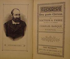 FABRE Docteur A. GUERIN Louis - RANQUE Charles